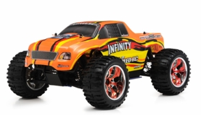1/10 2.4Ghz Exceed RC Infinitve Nitro Gas Powered RTR Off Road Monster 4WD Truck (BahaRed)