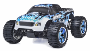 1/10 2.4Ghz Exceed RC Infinitve Nitro Gas Powered RTR Off Road Monster 4WD Truck Fire Blue