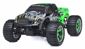 1/10 2.4Ghz Exceed RC Infinitve Nitro Gas Powered RTR Off Road Monster 4WD Truck Sava Green
