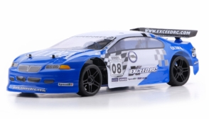 1/10 2.4Ghz Exceed RC Nitro Gas Powered Ultra RTR On Road Racing Car Blue