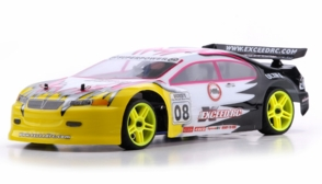 1/10 2.4Ghz Exceed RC Nitro Gas Powered Ultra RTR On Road Racing Car Fire Yellow