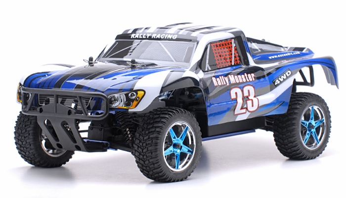 1 10 2 4ghz exceed rc rally monster nitro gas powered rtr. Black Bedroom Furniture Sets. Home Design Ideas
