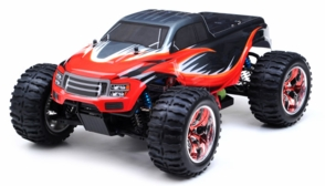 1/10 Exceed RC Brushless PRO 2.4Ghz Electric Infinitive EP RTR Off Road Truck (AA Red)