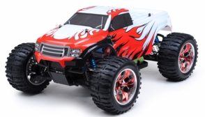 1/10 Exceed RC Brushless PRO 2.4Ghz Electric Infinitive EP RTR Off Road Truck (CC Red)