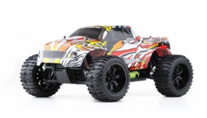 1/10 Exceed RC Brushless PRO 2.4Ghz Electric Infinitive EP RTR Off Road Truck Stripe Red