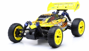 1/16 2.4Ghz Exceed RC Blaze EP Electric RTR Off Road Buggy (Fire Yellow)