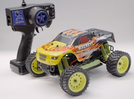 1/16 2.4Ghz Exceed RC Magnet EP Electric RTR Off Road Truck Fire Yellow
