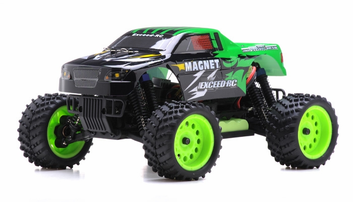 Rc Trucks Green : Ghz exceed rc magnet ep electric rtr off road