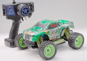1/16 2.4Ghz Exceed RC Magnet EP Electric RTR Off Road Truck Stripe Green