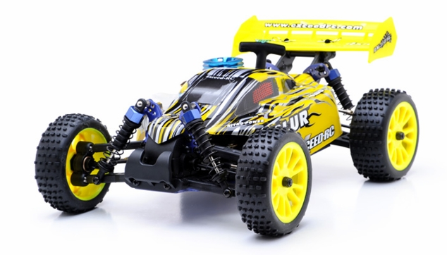 1/16 Exceed RC Blur Nitro Remote Control RC Buggy (HyperYellow 2.4G RTR)