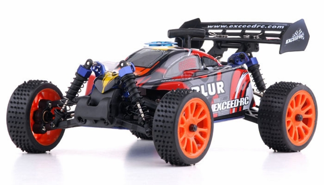 1/16 Exceed RC Blur Nitro Remote Control RC Buggy (WildRed 2.4G RTR)