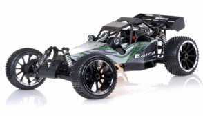 1/5th Giant Scale Exceed RC Barca 30cc Gas-Powered Off-Road Remote Control RC Buggy  Almost Ready to Run ARTR (Green)