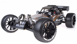 1/5th Giant Scale Exceed RC Barca 30cc Gas-Powered Off-Road Remote Control RC Buggy w/ 2.4Ghz 100% Ready-to-Run (Orange)