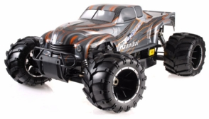 1/5th Giant Scale Exceed RC Wild Bull 30cc Gas-Powered Radio Controlled Off-Road RC Rally Racing Car Almost Ready to Run ARTR  (Orange)