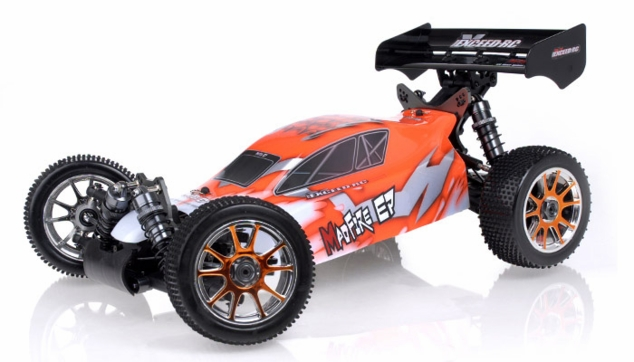 1/8Th 2.4Ghz Exceed RC MadFire Electric Brushless Racing Edition RTR Ready to Run Buggy Gama Orange