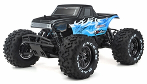 1/8Th EP Mad Beast Monster Truck Racing Edition Almost Ready to Run ARTR  w/ 540L Brushless Motor/ ESC (Blue)