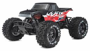 1/8Th EP Mad Beast Monster Truck Racing Edition Almost Ready to Run ARTR  w/ 540L Brushless Motor/ ESC (Red)