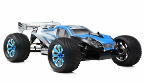 1/8Th EP Mad Warrior Racing Edition Truggy Ready to Run RTR Brushless Motor/ESC/Lipo (Alpha Blue)