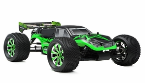 1/8Th EP Mad Warrior Racing Edition Truggy Ready to Run RTR Brushless Motor/ESC/Lipo (Star Green)
