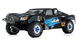 1/8th Exceed RC Mad Code GP Gas Powered Short Course Racing Edition RTR Ready to Run Rally Car (Blue)