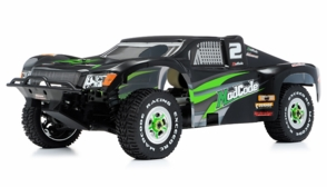1/8th Exceed RC Mad Code GP Gas Powered Short Course Racing Edition RTR Ready to Run Rally Car (Green)