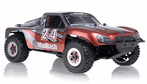 1/8Th Exceed RC Madbash Electric Brushless Racing Edition Almost Ready to Run ARTR  Rally Car Bravo Red