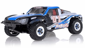 1/8Th Exceed RC Madbash Nitro Powered RTR Ready to Run Limited Edtion .21 Engine Rally Car Alpha Blue