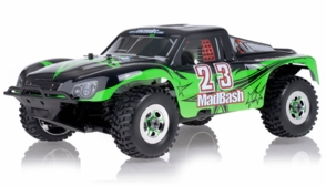 1/8th Exceed RC Madbash Nitro Powered RTR Ready to Run Racing Edtion .28 Engine Rally Car Star Green