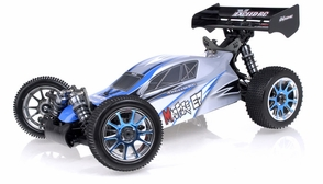 1/8Th Exceed RC MadFire Electric Brushless Racing Edition Almost Ready to Run ARTR  Buggy Alpha Blue