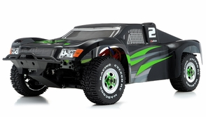 1/8Th Mad Code Short Course Racing Edition RTR Ready to Run Rally Car w/ Brushless/ESC/Lipo (Green)