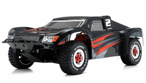 1/8Th Mad Code Short Course Racing Edition RTR Ready to Run Rally Car w/ Brushless/ESC/Lipo (Red)