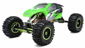 1/8Th Mad Torque Rock Crawler Almost Ready to Run ARTR (Green)