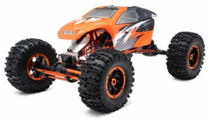 1/8Th Mad Torque Rock Crawler Almost Ready to Run ARTR (Orange)