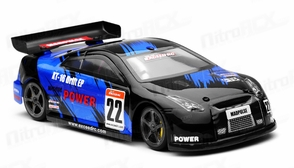 Exceed RC 1/18 Mad Pulse Brushless Drift Car Ready to Run (Fire Blue)