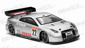 Exceed RC 1/18 Mad Pulse Brushless Drift Car Ready to Run (Silver)