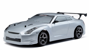 Exceed RC 2.4Ghz MadSpeed Drift King 1/10 Electric Ready to Run Drift Car (SK-Silver)