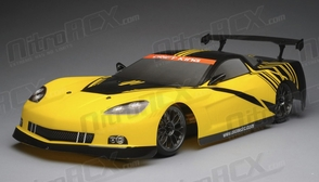 Exceed RC 2.4Ghz MadSpeed Drift King Brushless Edition 1/10 Electric Ready to Run Oval Drift Car (Yellow/Black)