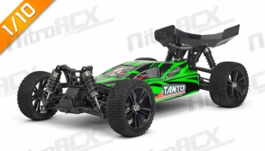 Iron Track RC  Tanto 1:10 Scale 4WD Electric Buggy Ready to Run (Green)