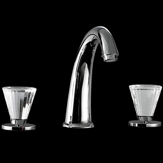 ARTIK 3-Hole Polished Chrome Luxury Bathroom Faucet