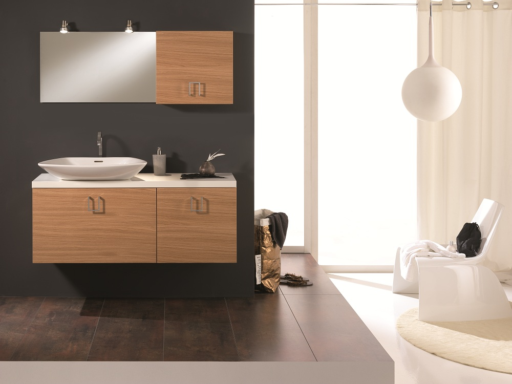 Bathroom Vanity Veneer oak veneer luxurious bathroom vanity stand