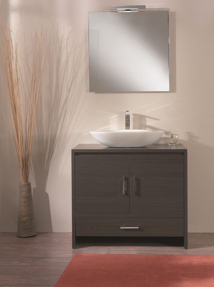 Ultra Luxury Veneered Wenge Bathroom Vanity