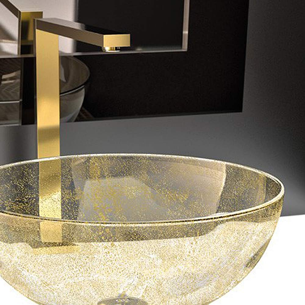 Bello Fancy Bath Faucet Brushed Gold