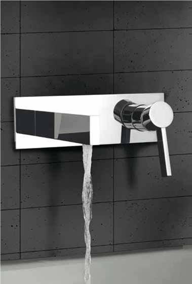 Bathroom Faucet From Wall wall mount bathroom faucet caso chrome