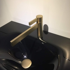 CASO SATIN GOLD  MODERN BATHROOM FAUCET