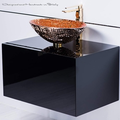 Chic Luxury Italian Bathroom Fixture Selection