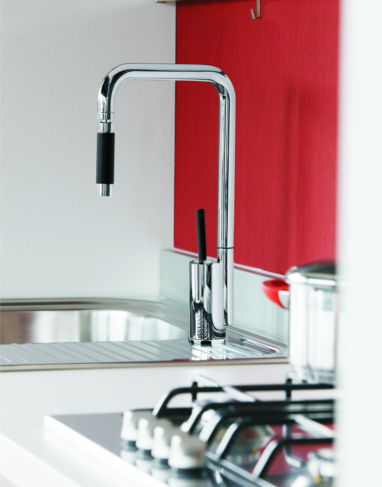 Modern Kitchen Faucet With Orientable Head