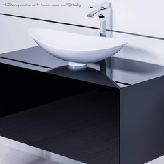 Swarovski crystal bathroom faucet | Polished chrome