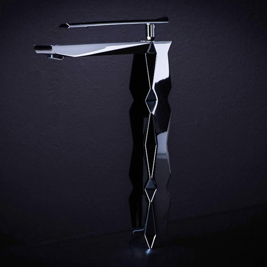 IKON Polished Chrome 1-Hole Luxury Vessel Sink Faucet