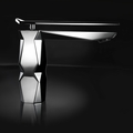 IKON Polished Chrome High End Bathroom Faucet