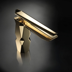 IKON Polished Gold Luxury Bathroom Faucet